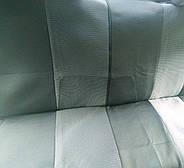 Авточехлы Dacia Logan MCV 5 мест с 2006 г деленная серые, фото 3