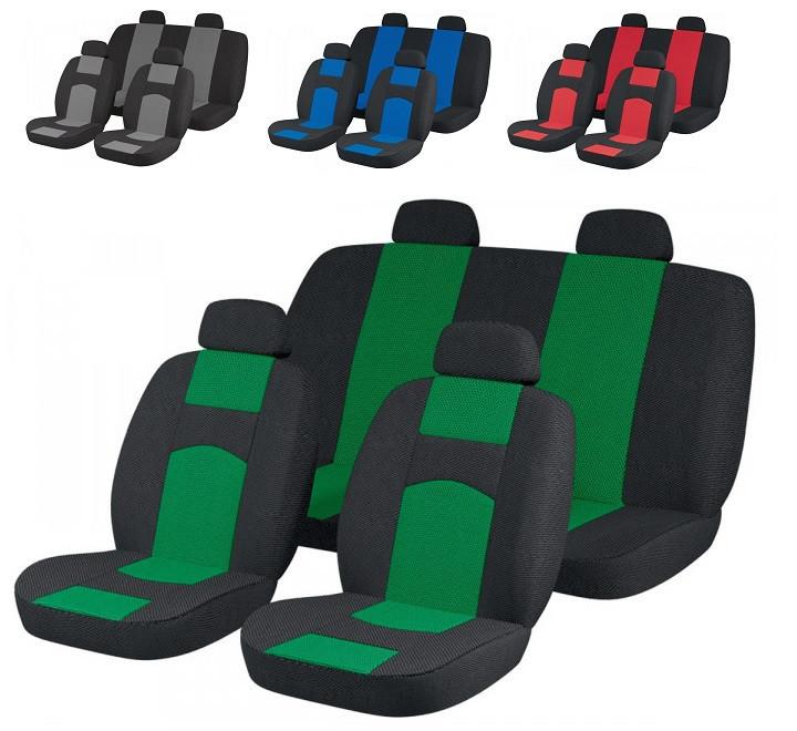 Чехлы сидений Ваз 2106 Зеленые