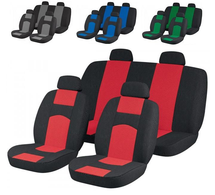 Чехлы сидений Ваз 2107 Красные