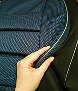 Чехлы сидений Ланос Заз Синие (горбы), фото 2
