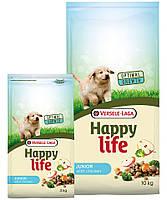 Корм Happy Life Junior with Chicken (корм для щенков); 10 кг