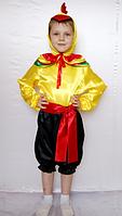 Карнавальный костюм Петушок для мальчиков от 3 до 6 лет
