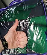 Авточехлы Skoda Fabia (6Y) ComBi/Hatch (цельная) с 2000-07 г зеленые, фото 5