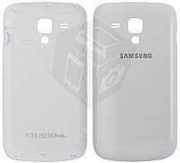 Задняя крышка батареи для Samsung Galaxy S Duos S7562, оригинал (белый)