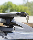 Багажники аэродинамические на рейлинги Citroen C4 Grand Picasso с 2007-2013 гг., фото 2