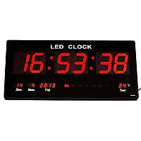 Часы настенные электронные YX-4622 Красные