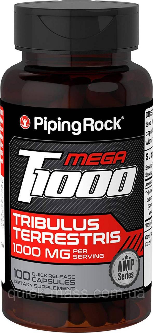 Трибулус Piping Rock Ultra Tribulus Max 1000 мг 100 капсул