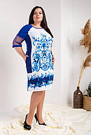 Женское платье нарядное большие размеры