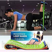 Поштучно СИНЯЯ фитнес резинка для фитнеса U-Powex. ОРИГИНАЛ  Хит США!, фото 2