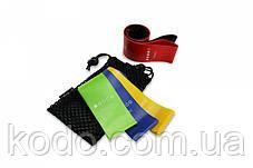 Набор фитнес резинок для фитнеса U-Powex из 4 лент и чехла (без черной резинки). ОРИГИНАЛ. Резинки Хит США!, фото 2