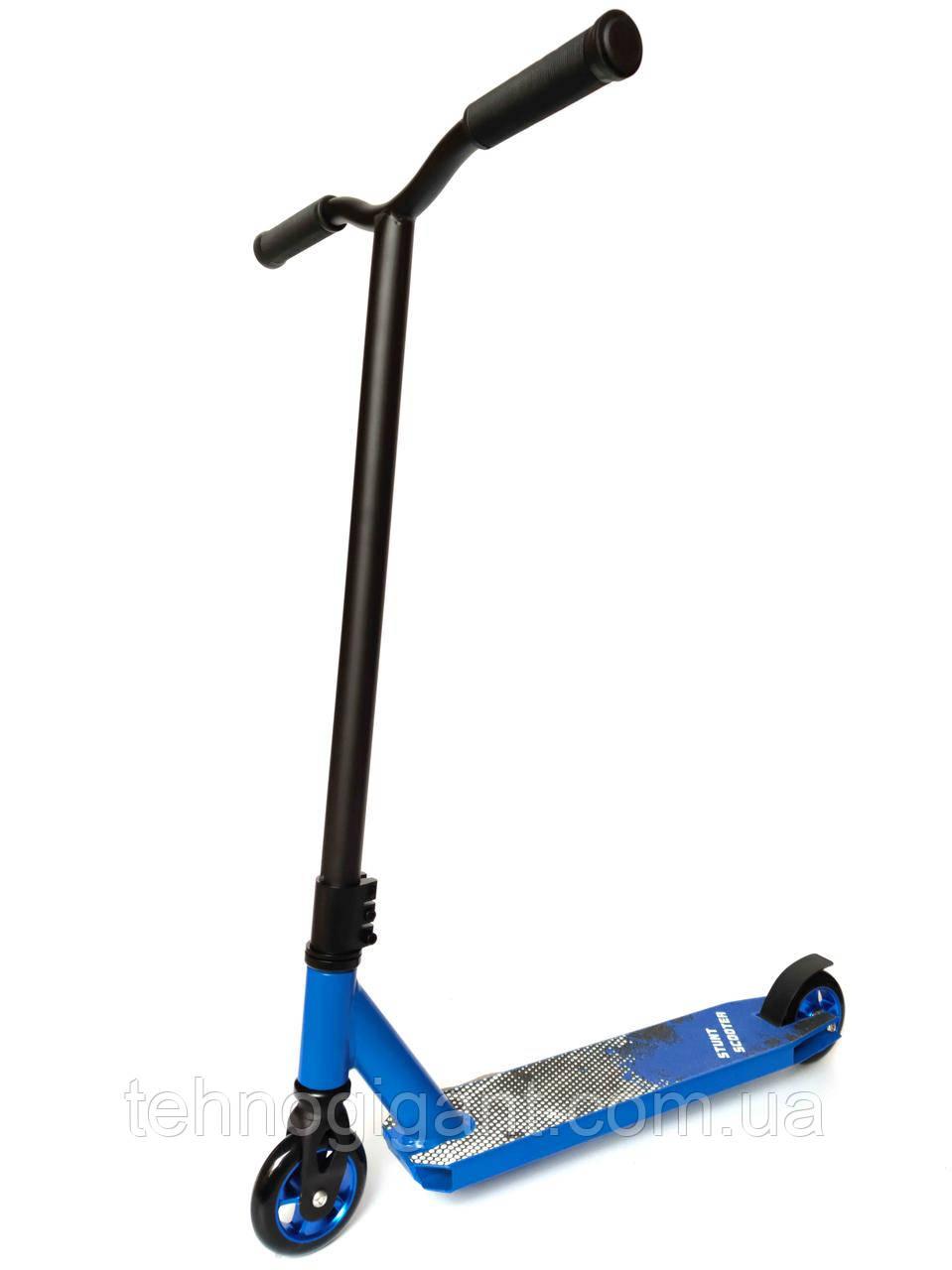 Трюковий Самокат від Stunt HIC , 100 мм Синій , колеса алюміній/поліуретан