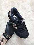Женские кроссовки New Balance 574 Black Bronze, кроссовки нью беленс 574 (36,38 размеры в наличии), фото 2