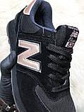 Женские кроссовки New Balance 574 Black Bronze, кроссовки нью беленс 574 (36,38 размеры в наличии), фото 5