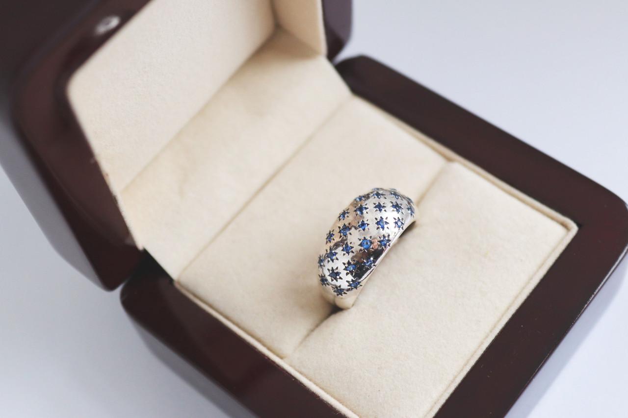 Серебряное кольцо Млечный путь