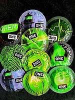 Светящиеся презервативы Премиум класс One Glowing .Качество Durex.1 шт., фото 1
