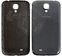 Задняя крышка для Samsung Galaxy S4 i9500, i9505, черный, оригинал