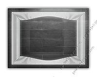 Зеркало с LED подсветкой, 900х700мм, L27, фото 1