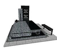 Памятник  гранітний подвійний N3707