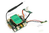 Блок электроники (запчасть для квадрокоптера WL Toys Q323)