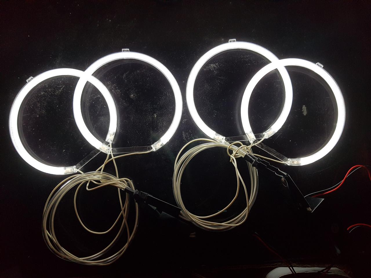 Ангельские глазки (4*127.5 мм ) CCFL для BMW E32 белые