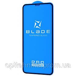 Защитное стекло BLADE PRO Series Full Glue iPhone Xs Max/11 Pro Max black