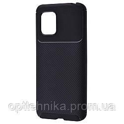 Ultimate Experience Carbon (TPU) Xiaomi Mi 10 Lite black