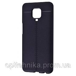 Ultimate Experience Leather (TPU) Xiaomi Redmi Note 9S/Note 9 Pro black