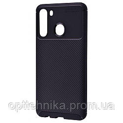 Ultimate Experience Carbon (TPU) Samsung Galaxy A21 (A215) black