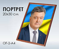 Світогляд 1800 Портрет Президента України (А4) Петро Порошенко (13104069У)