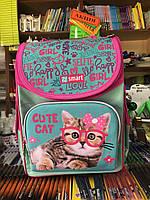 Рюкзак школьный каркасный Smart PG-11 Cute Cat 558052