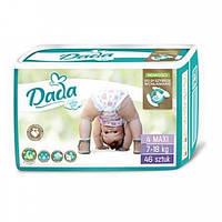 Памперсы Дада Dada extra soft 4 ( 7 - 18 кг ) 46 шт., фото 1