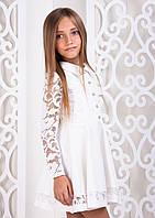Платье Сицилия белый София Шелест, 152, фото 1