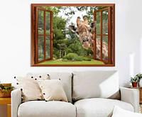 Обои-картина украшение стены/ Фото обои на стену Горы, лес, озеро/Печать на холсте 80*120
