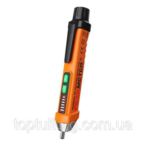 Бесконтактный тестер напряжения (12-1000 V / 50 / 60Hz) со световой и звуковой индикацией PROTESTER PM8908C