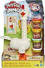 Набор для творчества Плей-До Веселая курочка в перьях Play-Doh Animal Crew Cluck-A-Dee Feather Fun Chicken, фото 2