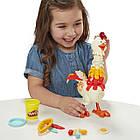 Набор для творчества Плей-До Веселая курочка в перьях Play-Doh Animal Crew Cluck-A-Dee Feather Fun Chicken, фото 6