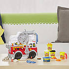 Набор для творчества Плей-До Пожарная Машина (E6103) Play-Doh FIRE Truck, фото 4