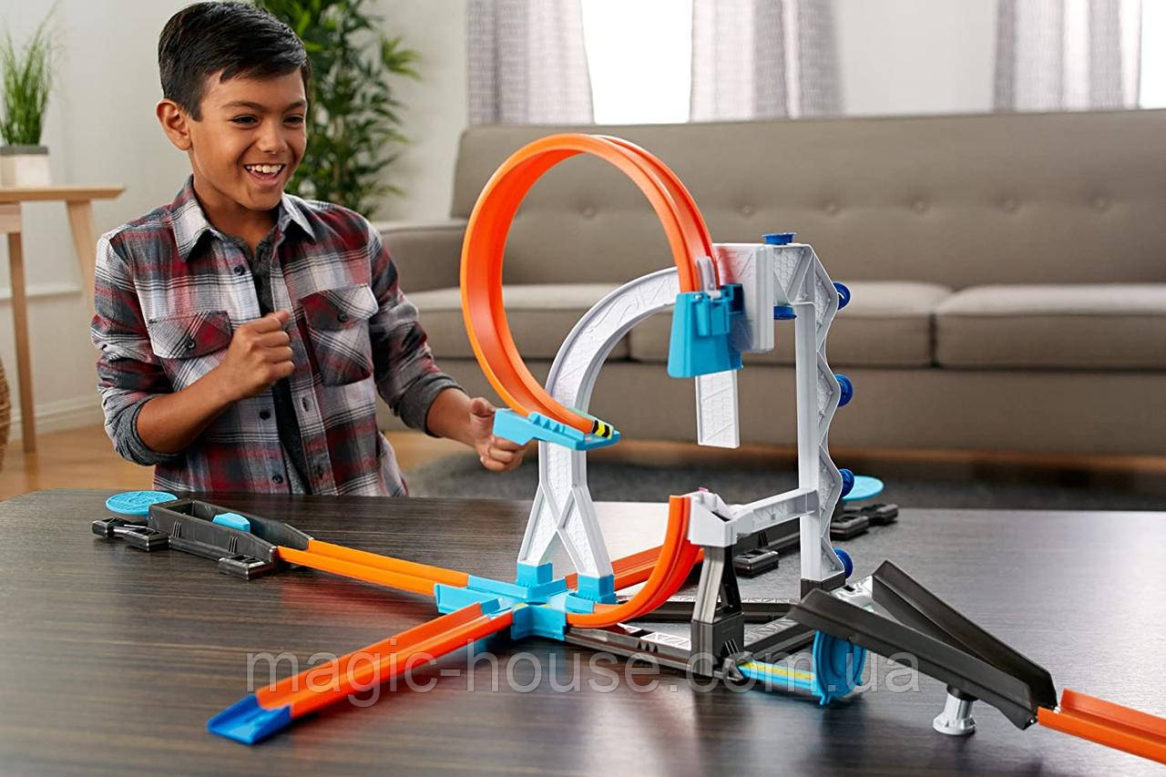 Трек Hot Wheels Випробування і трюки System Builder Stunt Kit ОРИГІНАЛ!