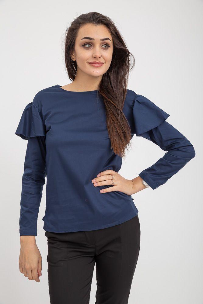 Блузка женская 115R275 цвет Темно-синий