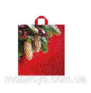 Пакет Новогодние шишки 40 * 43 см. 50 шт. / Уп