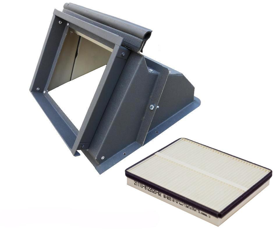 Адаптер салонного фильтра для Ваз 2108, 2109, 21099, 2113, 2114, 2115 с бумажным фильтром АвтоВАЗ
