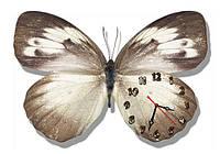 Бабочка - часы настенные фигурные 30*45 см 8