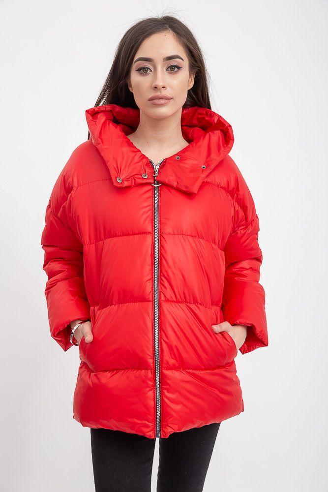 Куртка женская 132R003 цвет Красный