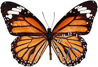 Бабочка - часы настенные фигурные 30*45 см 9