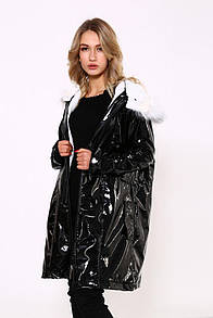 Куртка женская 103R061 цвет Черный