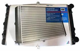 Радиатор ВАЗ 2108 2109 21099, 2113 2114 2115 инжектор, алюм., основной АвтоВАЗ