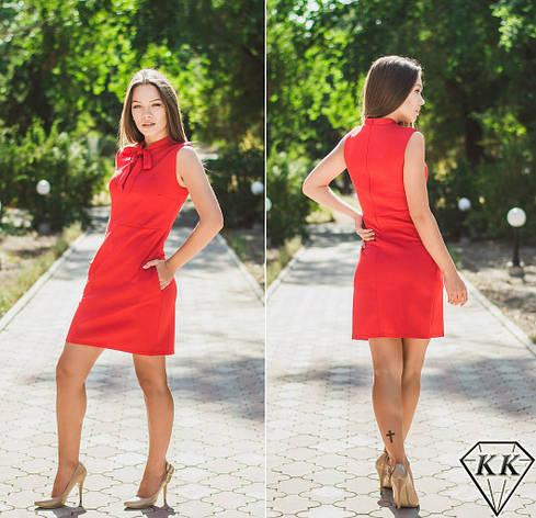 Красное платье 15519, фото 2