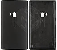 Задняя крышка батареи для Nokia Lumia 920, c боковыми кнопками, черный, оригинал