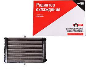 Радиатор ВАЗ 2108 2109 21099, 2113 2114 2115 инжектор, алюм., Daewoo Sens, основной ДААЗ