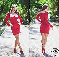 Красное платье 15524